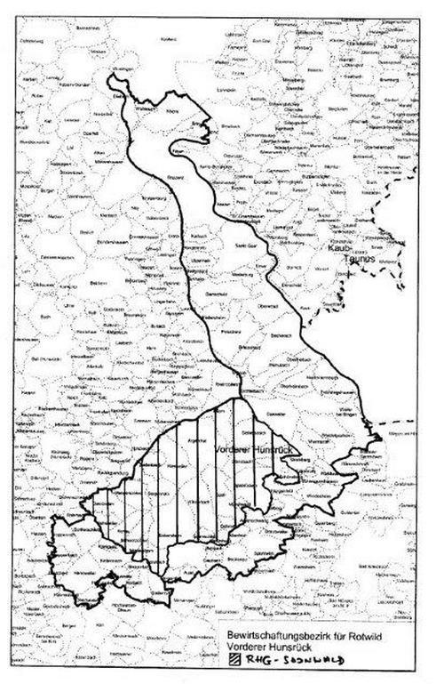 Karte zum Artikel (Region Soonwald)